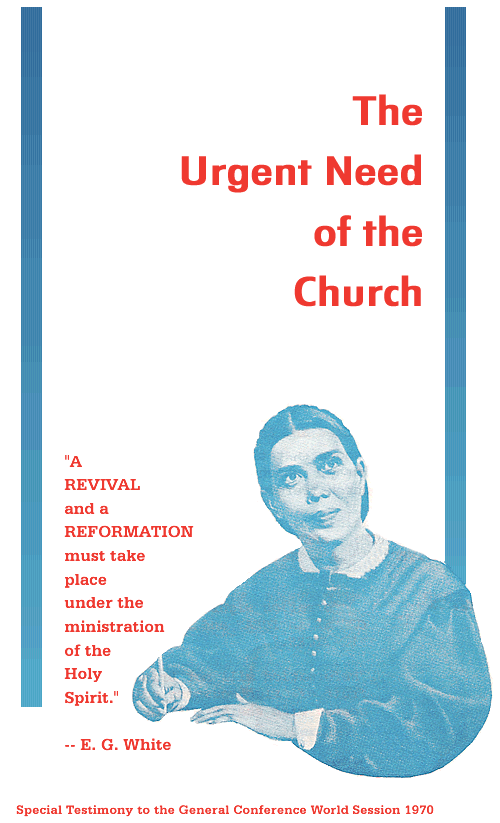 The Urgent Need of the Church